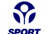 blue and white logo for Sport England