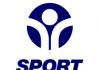 blue and white logo for Sport England