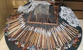 images of tools required for lacemaking