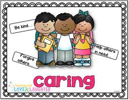 cartoon depicting caring for others