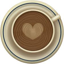 image of coffee with a heart