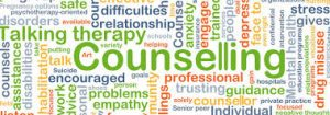 lots of words relating to counselling