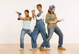photo of women with tools