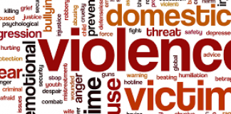 lots of words relating to domestic violence