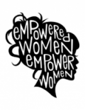 image of ladies head with words relating to empowerment