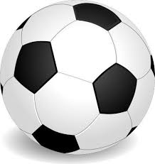 image of a black and white football
