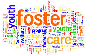 lots of words relating to fostering