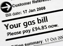 image of a fuel bill