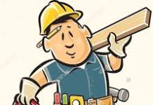 cartoon image of a handy man
