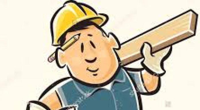 cartoon image of a handy man