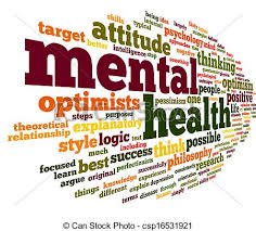 many different words relating to mental health