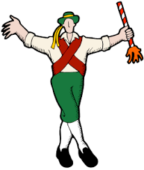 image of cartoon Morris Dancer