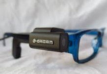 image of orcam spectacles