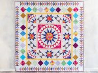 image of a hand made quilt