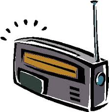 cartoon image of radio