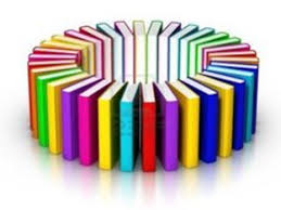 circle of library books