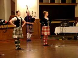 image of scottish dancers ewth swords crossed