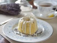 image of cake and cup of tea