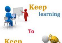 cartoon images relating to training