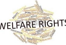 many different words relating to welfare rights