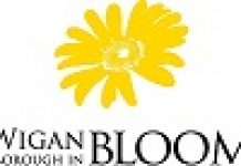 wigan in bloom logo