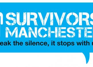 blue logo for survivors manchester