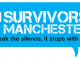 blue logo for survivors manchester