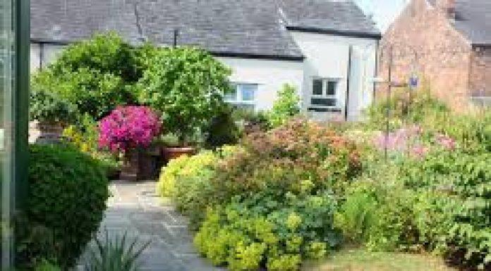photograph of Crooke Village garden
