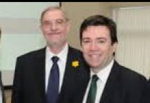 phto of Andny Burham with Lord Peter Smith