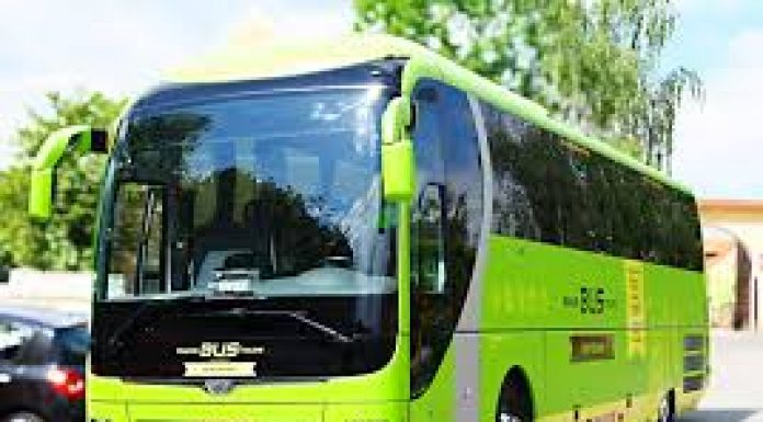 image of a modern coach
