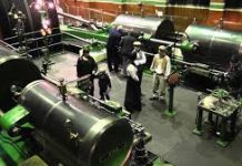 photo of old steam engines