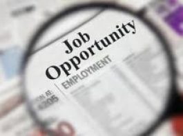image of a newspaper highlighting job opportunities
