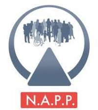 NAPP logo - a circle encompassing different people from all walks of life