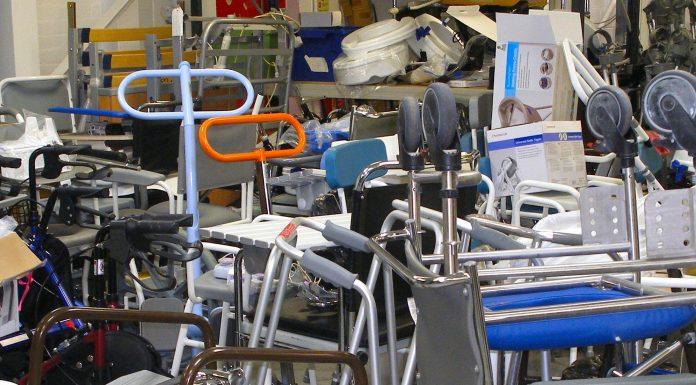 hoards of returned medical equipemtn