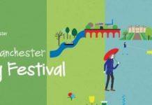 logo for the walking festival