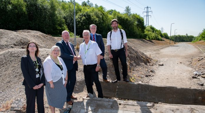 photo of Wigan Council Staff and Contractors re A49