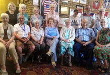 photograph of people who are involved with the bereavement Group