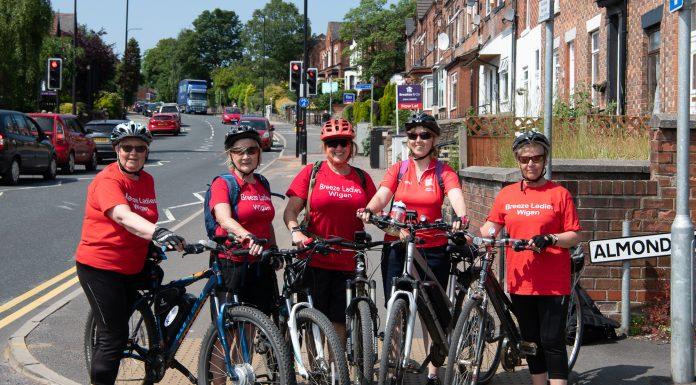 image of Breeze Ladies Wigan. Cycling Week.