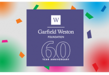 Garfield Weston 60th anniversary fund Logo