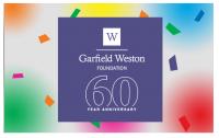 Garfield Weston 60th anniversary fund Logo