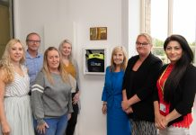 Mesnes Park defibrillator Photo