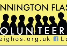 Pennington Flash Volunteers Logo