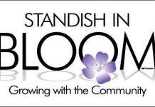 Standish In Bloom Logo