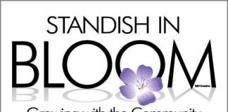 Standish In Bloom Logo