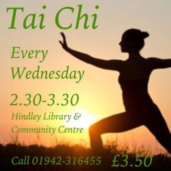 poster advertising Tai Chi sessions