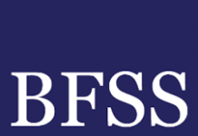 dark blue logo for BFSS
