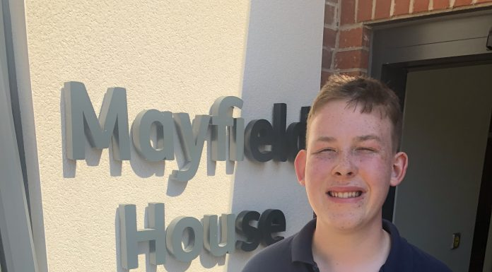 Stephen at Mayfield House