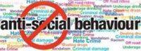 words depicting anti social behaviour