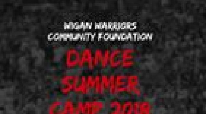 poster advertising dance event