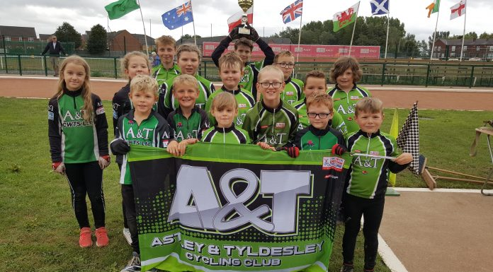 Title Winning Astley & Tyldesley u-13 team,